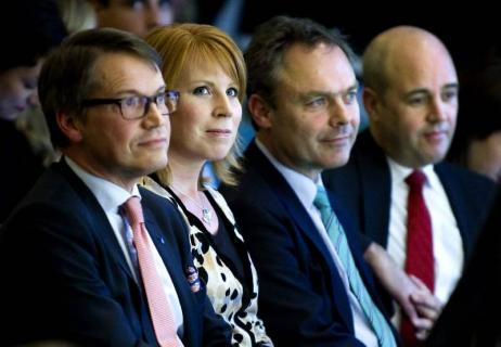Alliansen Kristdemokraterna, Centerpartiet, Folkpartiet och Moderaterna
